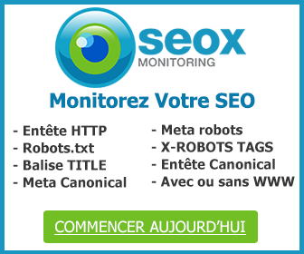 Logiciel SEO Oseox Monitoring